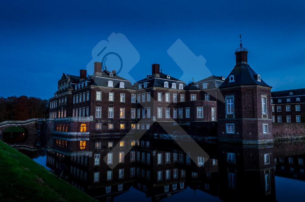 Schloss Nordkirchen zur blauen Stunde