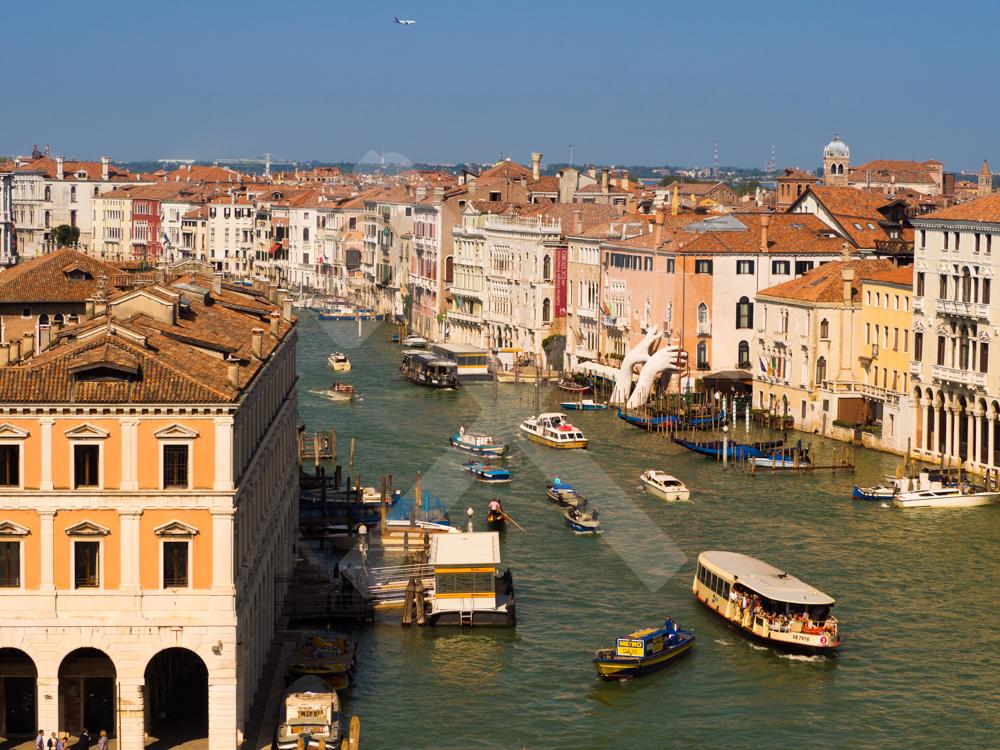 Sonne in Venedig