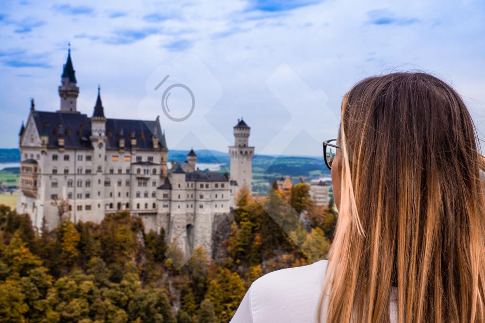 Wundervoller Blick auf das Schloss
